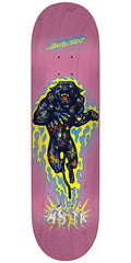 Santa Cruz Asta Cosmic Cat Pro Skateboard Deck - Pink - 8.0in x 31.6in