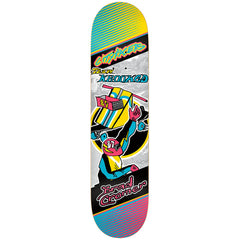 Krooked Cromer City Racers Skateboard Deck - 8.06 x 32.0 - Multi