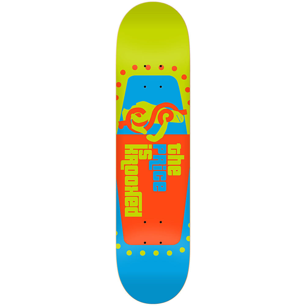 Krooked The Price is Right LG Skateboard Deck - 8.25 x 32.0 - Multi