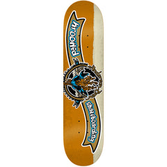 Krooked Anderson Kraft Brew Skateboard Deck - Gold - 8.25in x 32.0in