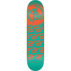 Krooked Difused PP X-Large Skateboard Deck - Teal - 8.5in x 32.18in