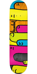 Krooked Hoi Polloi Split Stain Skateboard Deck - Assorted - 8.38in x 32.43in