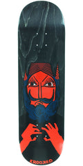Krooked Dan Time Will Tell Skateboard Deck - Black - 8.75in x 32.75in