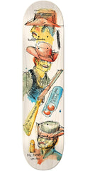 Krooked Anderson Pill Popper Skateboard Deck - Multi - 8.5in x 32.25in