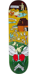 Krooked Anderson Farm Boy Skateboard Deck - Multi - 8.25in x 32in
