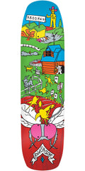 Krooked Anderson Farm Boy Skateboard Deck - Multi - 8.5in x 32.25in