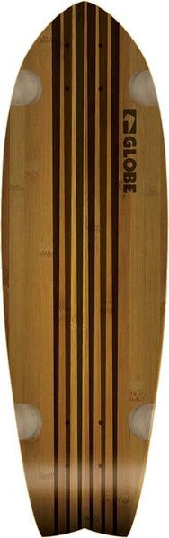 Globe Pin City Skateboard Deck 30in - Natural