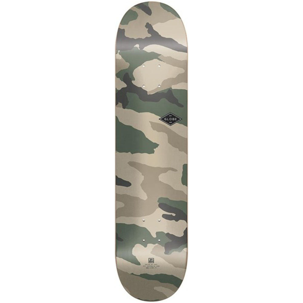 Globe Full On Skateboard Deck - Camo - 8.0in