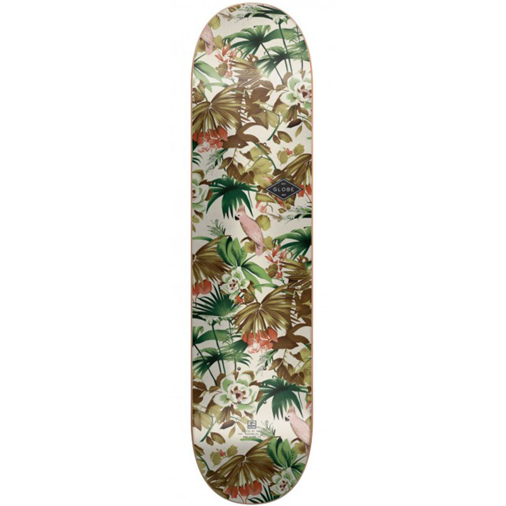 Globe Full On Skateboard Deck - Jungle - 8.0in