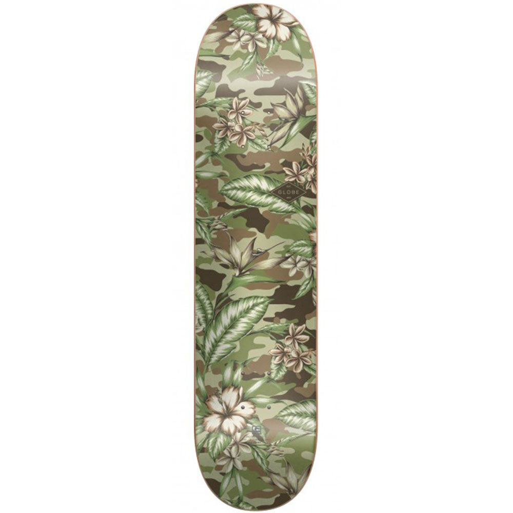 Globe Full On Skateboard Deck - Paradise/Camo - 7.75in