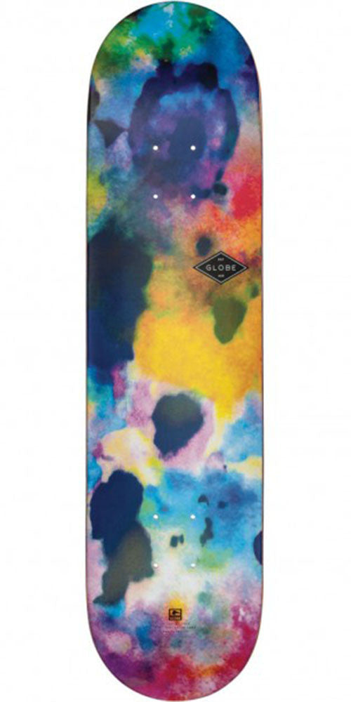 Globe Full On Skateboard Deck - Color Bomb - 7.75in x 31.6in