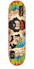 Flip Cheech And Chong Penny Skateboard Deck 32 x 8.13 - Tie Dye