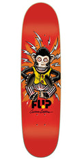 Flip Caples Monkey Skateboard Deck 8.25 x 31.5 - Red