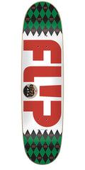 Flip Caples Argyle Series Skateboard Deck - White - 8.25in x 31.5in