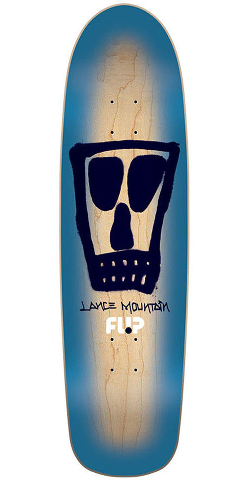 Flip Mountain Vato Spray Skateboard Deck - Blue - 8.9in x 32.5in