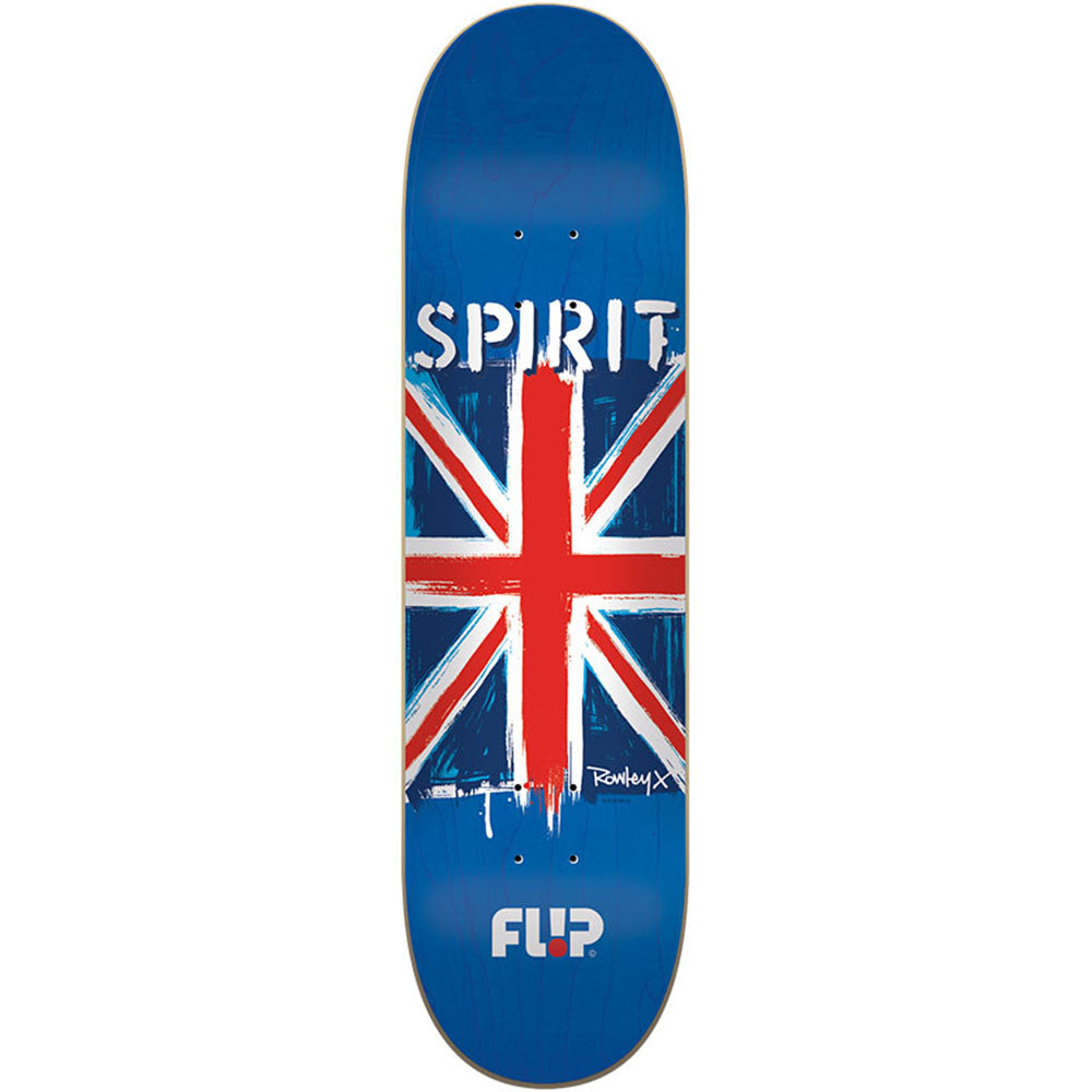 Flip Rowley Spirit Skateboard Deck - Blue - 32.31in x 8.25in
