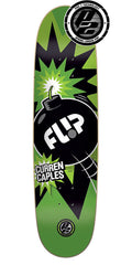 Flip Caples Boom P2 Skateboard Deck - Green - 31.5in x 8.25in