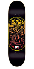 Flip Gonzalez Iconoclastics Series Skateboard Deck - Black - 32.5in x 8.4in