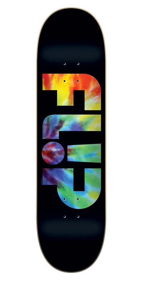 Flip Team Odyssey Skateboard Deck - Tie Dye - 31.5in x 8.0in