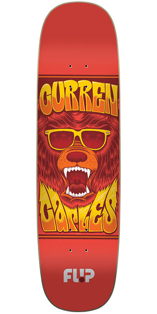 Flip Caples Mercenaries Series Pro Skateboard Deck - Red - 31.25in x 8.44in