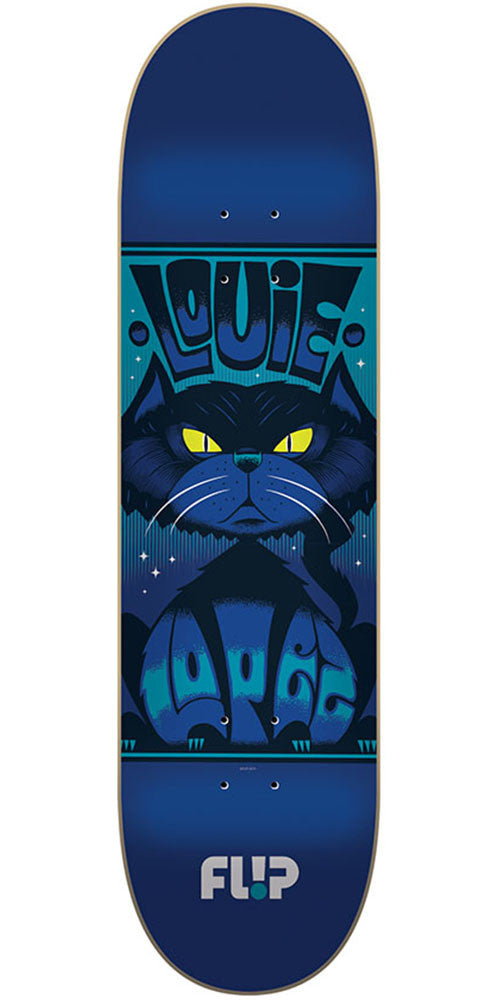 Flip Lopez Mercenaries Series Pro Skateboard Deck - Blue - 32.31in x 8.25in