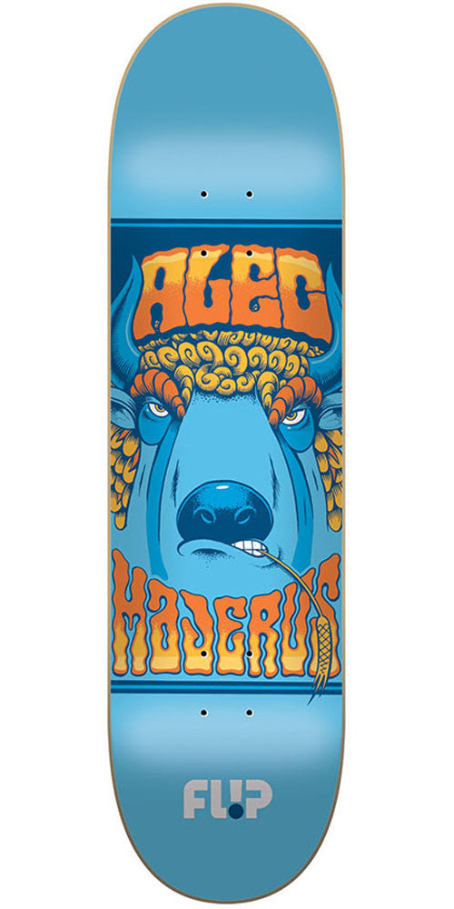 Flip Majerus Mercenaries Series Pro Skateboard Deck - Blue - 32.31in x 8.25in