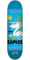 Flip Caples Vintage Pro Skateboard Deck - Blue - 31.5in x 8.0in