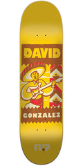 Flip Gonzalez Vintage Pro Skateboard Deck - Yellow - 31.5in x 8.0in