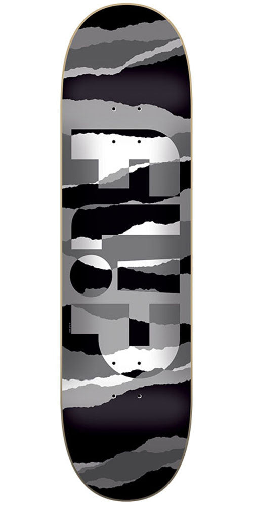 Flip Odyssey Torn Grayscale Team Skateboard Deck - Multi - 32.31in x 8.25in