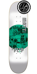 Flip Berger Insta Art Pro P2 Skateboard Deck - White - 31.5in x 8.0in