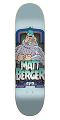 Flip Berger Gallery Series Pro Skateboard Deck - Blue - 31.50in x 8.00in