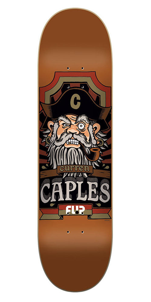 Flip Caples Gallery Series Pro Skateboard Deck - Brown - 32.31in x 8.25in