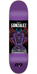 Flip Gonzalez Gargoyle Skateboard Deck - Purple - 8.0in x 31.5in