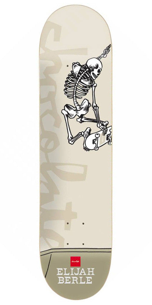 Chocolate Berle Day of Shred Skateboard Deck - Taupe - 8.5in