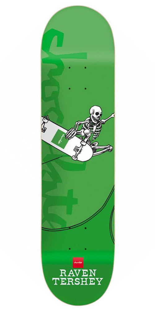 Chocolate Tershy Day of Shred Skateboard Deck - Green - 8.5in
