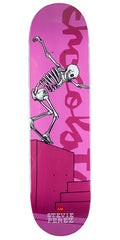 Chocolate Perez Day of Shred Skateboard Deck - Pink - 8.25in