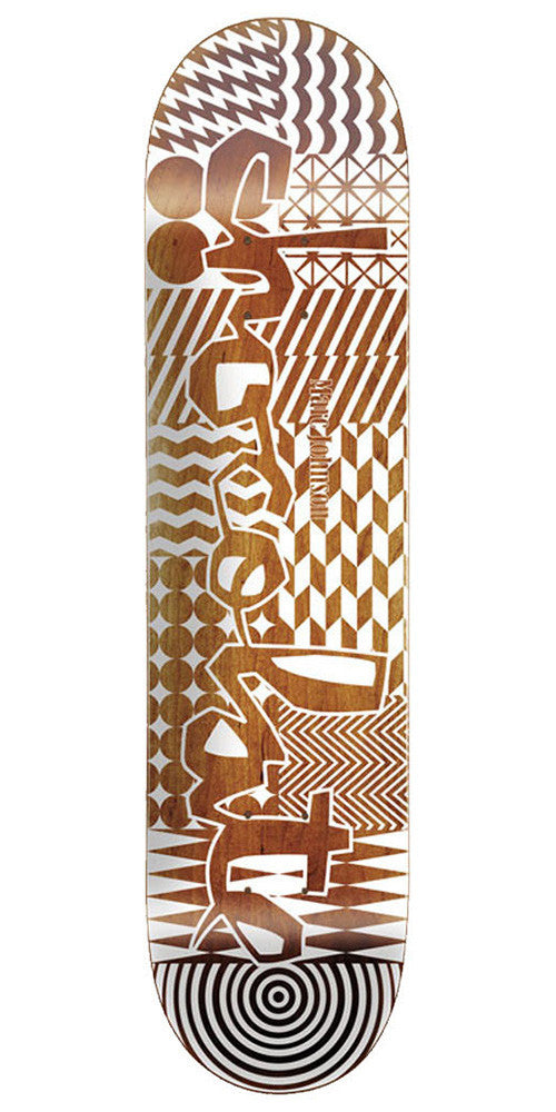 Chocolate Johnson Modern Chunk Skateboard Deck - Assorted - 8.125in