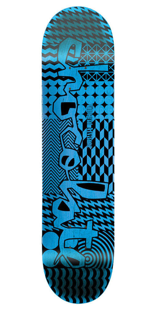 Chocolate Alvarez Modern Chunk Skateboard Deck - Assorted - 8.25in