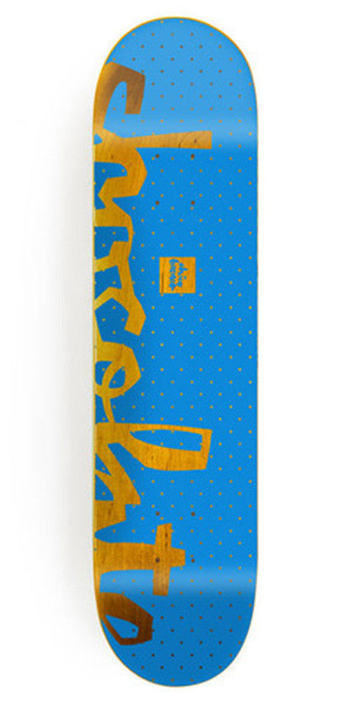 Chocolate Brenes Floater Chunk Skateboard Deck - Blue - 8.0in x 31.63in