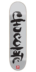 Chocolate Berle Heritage Skateboard Deck - Grey - 8.5in x 32.25in