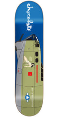 Chocolate Anderson Bomber Skateboard Deck - Blue - 8.125in x 31.625in
