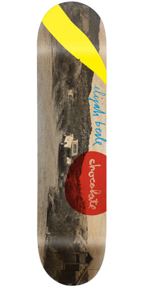 Chocolate Berle High Desert Skateboard Deck - Natural - 8.0in x 31.5in