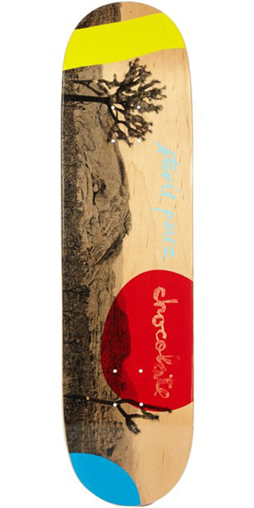 Chocolate Perez High Desert Skateboard Deck - Natural - 8.25in x 32.0in