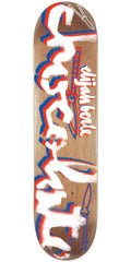 Chocolate Berle Icon Stencil Skateboard Deck - Natural - 8.5in x 32.25in