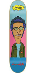 Chocolate HSU Jer & MJ Skateboard Deck - Blue/Pink - 8.0in x 31.5in