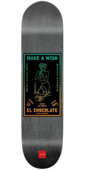 Chocolate Anderson Black Magic Skateboard Deck - Grey - 8.125in x 31.625in