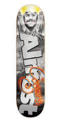 Almost Movie Poster Impact Cooper Wilt Skateboard Deck 8.38 - Grey/White