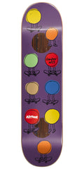 Almost Are We Not moMen Impact Plus Copper Wilt Skateboard Deck 8.25 - Purple/Multi