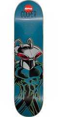 Almost Cooper Wilt Black Manta R7 Skateboard Deck - Teal - 8.0