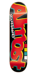 Almost Off Register Skateboard Deck - 8.25 - Black